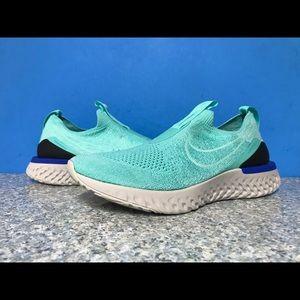 Nike Epic Phantom React FK Flyknit Turquoise Wmns